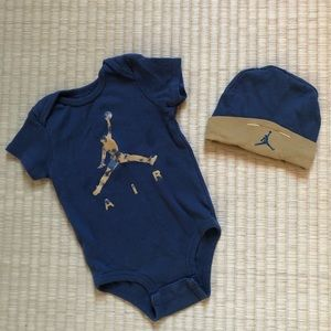 Jumpman (Nike) Bodysuit and Hat